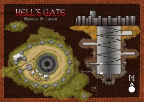 Hell's Gate - Map June Lite Contest entry by DePassage