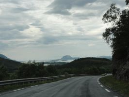 Driving to Torghatten by ChimeraDragonfang