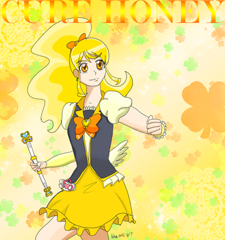 Cure Honey by Blue-and-Dog