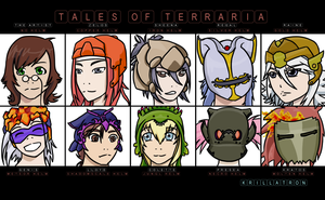Tales Of Terraria by krillatron