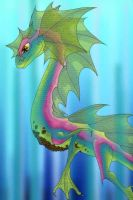 water dragon by persephone-the-fish