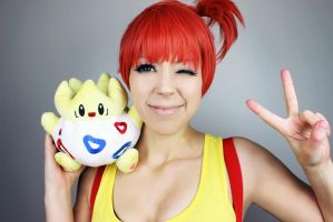 Misty Cosplay - Alicat by AliCat2011