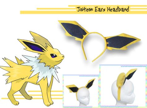 Jolteon-style Headband by AnimeNomNoms