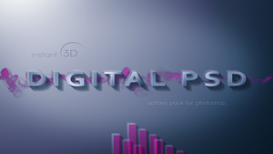 Quick 3d action for photoshop by AiviTo