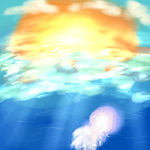 [Sunshine Jellyfish] by Asa-Chi