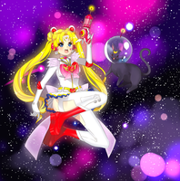 space moon princess by cherrycheezy