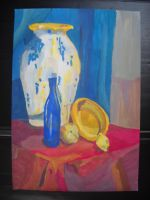still life with big vase by Dziecko-we-mgle