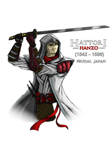 Assassin's Creed universe - Hattori Hanzo by DarthDestruktor