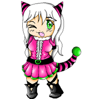 .::PC::.Pixel art-Gijinka Flaffly by Nite3007