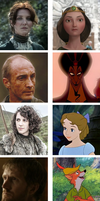 Game of thrones meets Disney: part four by SingerofIceandFire