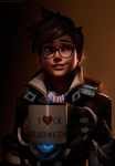 Tracer - Overwatch by TakeOFFFLy