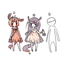 adoptables CLOSED by HimeTeru