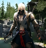Connor Kenway by kenmejia