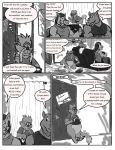 Comic commission: A Normal Day at K-9 Agency 2 by CaseyLJones