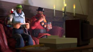 SFM Poster: Gaming Night by PatrickJr