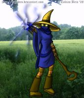 Female Black Mage by 3shades