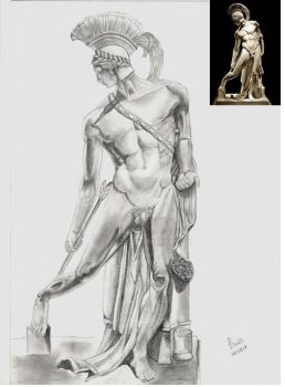 Achilles wounded in the heel by LaisLS