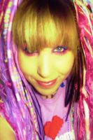 Crazy Candy Raver Dreads 4 by robotic-cupcake