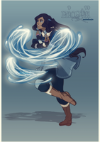 Legend of Korra OC: Nirotii by mintwinter
