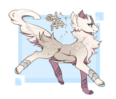 Sooty Footprints - GARROX AUCTION (ENDS TODAY!!) by Lemongu