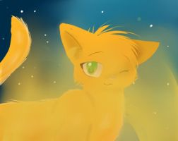 SSS Warrior Cats firepaw 3D by sonamy2905