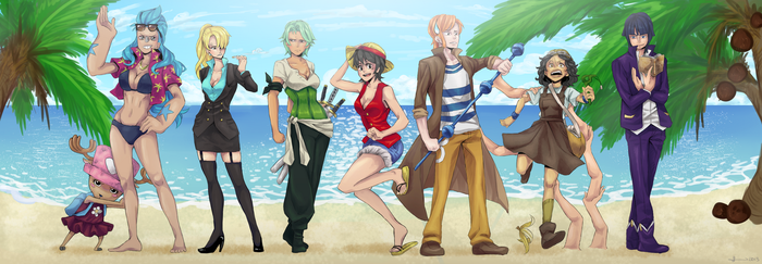 One Piece Genderbend by TaigaKun