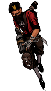 TF2 Bill's Scout by Craftaster