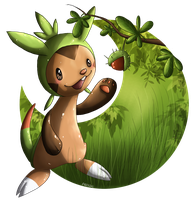 Chespin by anouki-morgenstern