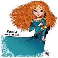 Another Merida by frandemartino