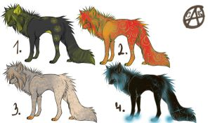 canines adoptable closed by wolfyLRiina
