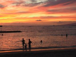 Hawaii Sunset 3 by 8TwilightAngel8