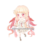 (CLOSED) Adoptable: Dreamcatcher chibi by Frappe7