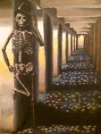 Skeleton Alley by SabastionLover