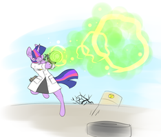 Nuclear Physicist by Metal-Kitty