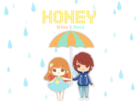 Honey Cover by Iris-Zeible