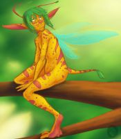 Weird Fairy Thing by In-Tays-Head