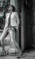 Black and White Stereoscopic 3d Anaglyph by sKyLinKd