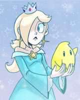 Princess and her Luma by Super-Cute