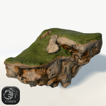 Floating island wide by Cordy3D