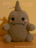 Aru Plushie Knitted by okiren