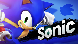Super Smash Bros.-Sonic by SonicChaos1000