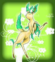 Leafeon Shiny by AluCakes