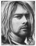 Kurt Cobain - 12Caras Series by artcova