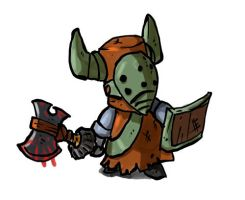 Barbarian - Castle Crashers by leotte803