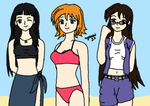 OCs Ready for Summer - 01 by ryuumi20