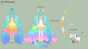 UT - Iris Reference Sheet + Nafisa by porcelian-doll