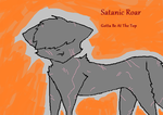 Satanic Roar Re-Do by TainedReblez