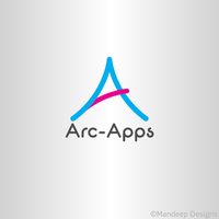 Arc Apps logo by Mandeep2u