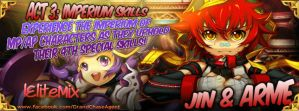 [GCPH]Act 3-3: Imperium Skill of Arme and Jin by lEliteMix