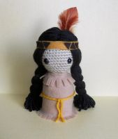 Little Native American Doll by missdolkapots
